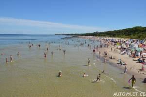 Pláž Kolobřeh Polsko 2