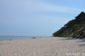 Pláž Miedzywodzie Polsko 2