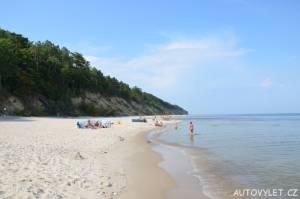 Pláž Miedzywodzie Polsko 3