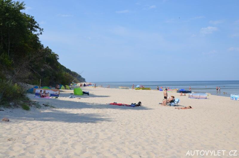 Pláž Miedzywodzie Polsko 4