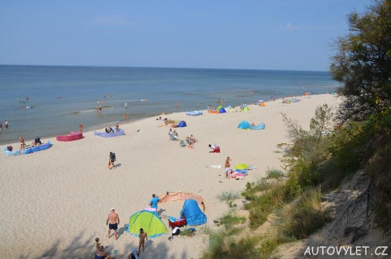 Pláž Miedzywodzie Polsko 5