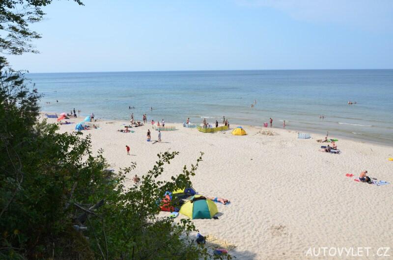 Pláž Miedzywodzie Polsko 6