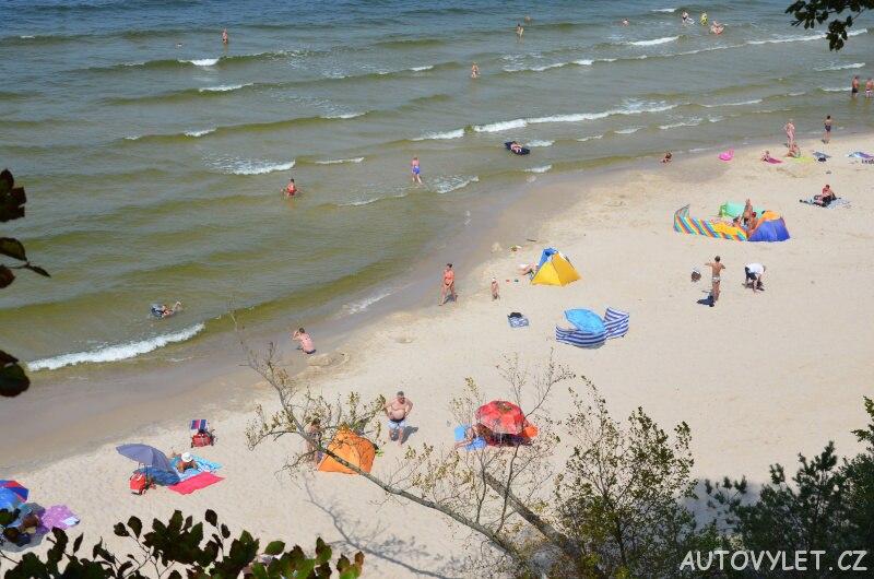 Pláž Miedzywodzie Polsko 7