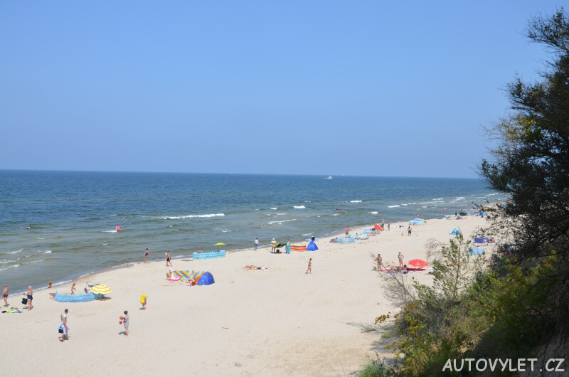 Pláž Miedzywodzie Polsko 8