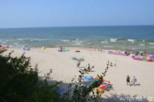 Pláž Miedzywodzie Polsko 9