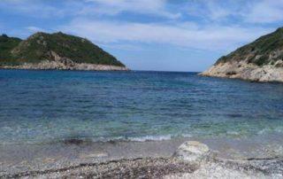 Pláž Porto Timoni - Korfu Řecko
