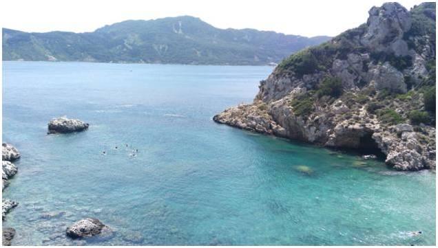 Pláž Porto Timoni - Korfu Řecko 2
