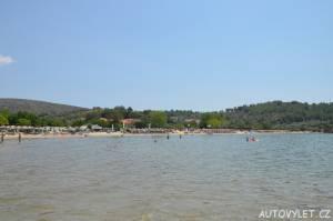Pláž Potos Thassos Řecko