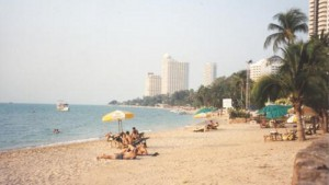 pláž v Thajsku