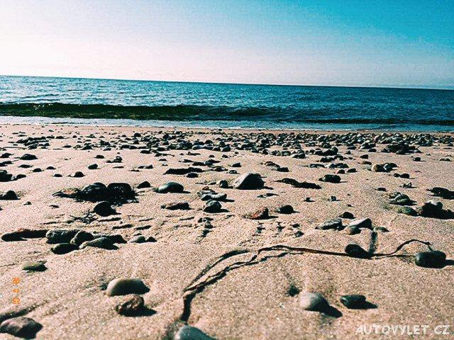Pláž ve Švédsku