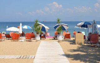 Pláže Thassos Řecko