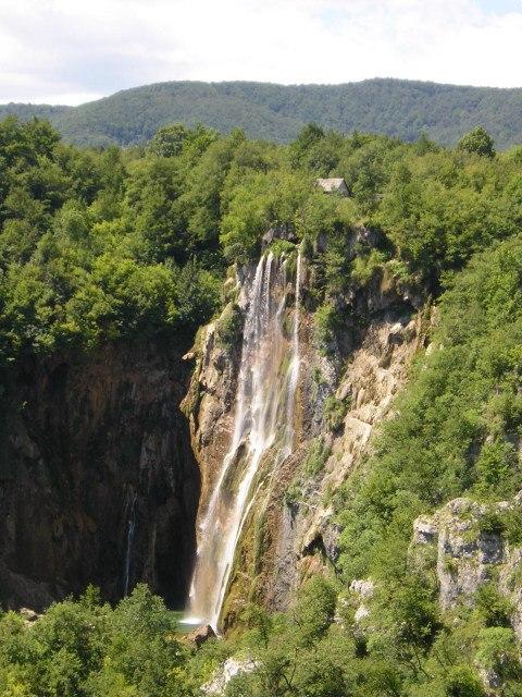 Plitvická jezera Chorvatsko 2