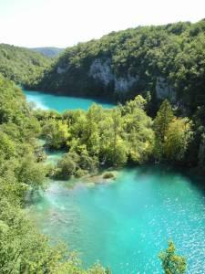 Plitvická jezera Chorvatsko 4