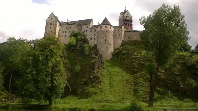 Pod hradem Loket