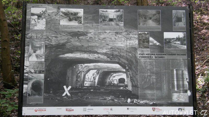 Podzemní nacistická továrna Richard - Litoměřice 2