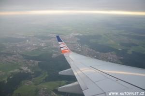 Pohled z letadla 1