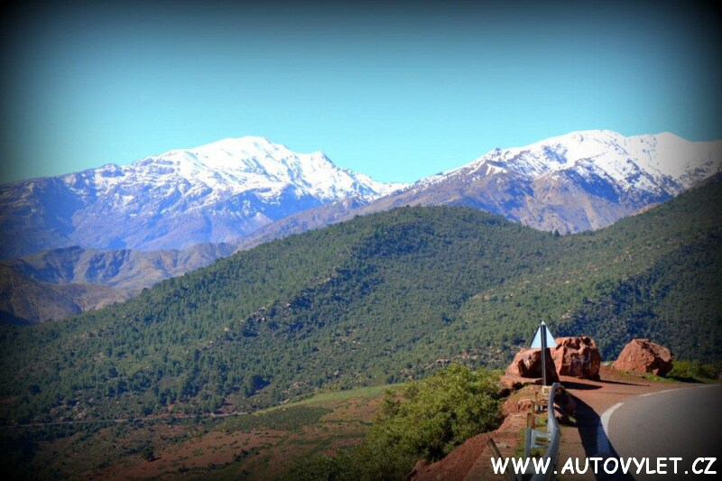 pohoří vysoký atlas v maroku