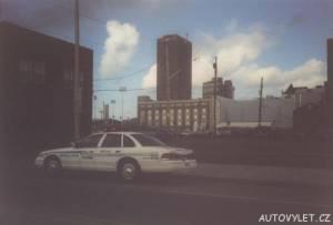 Policejní auto - USA