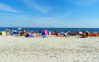 polsko balt pláž