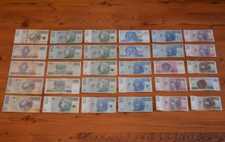 Polský Zlotý - bankovky