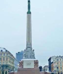 Pomník svobody - Riga Lotyšsko