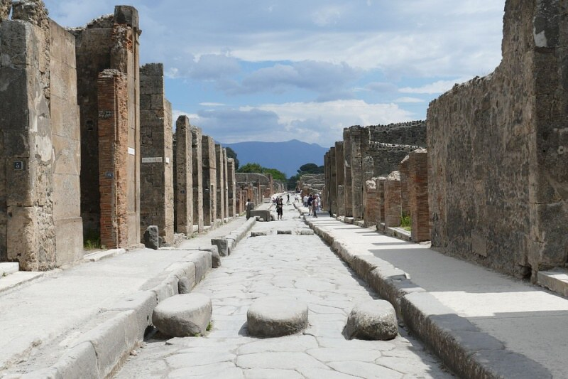 Pompeje Itálie