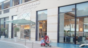 porto platanias hotel chania řecko