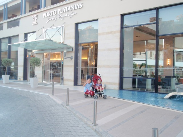 porto platanias hotel chania řecko 1