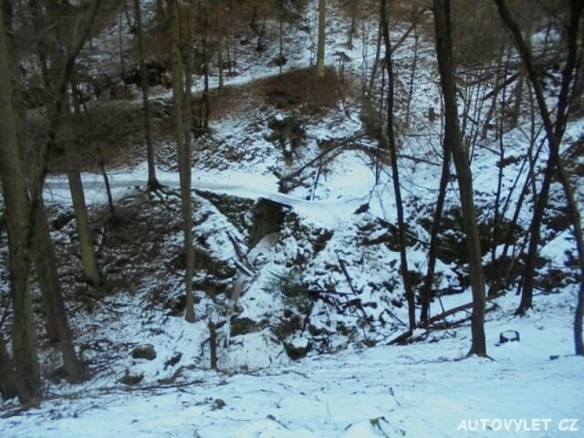 Posázavská stezka - vodopád