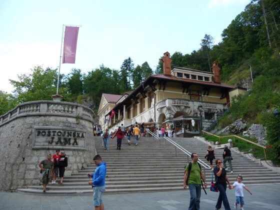 Postojnska jama Slovinsko