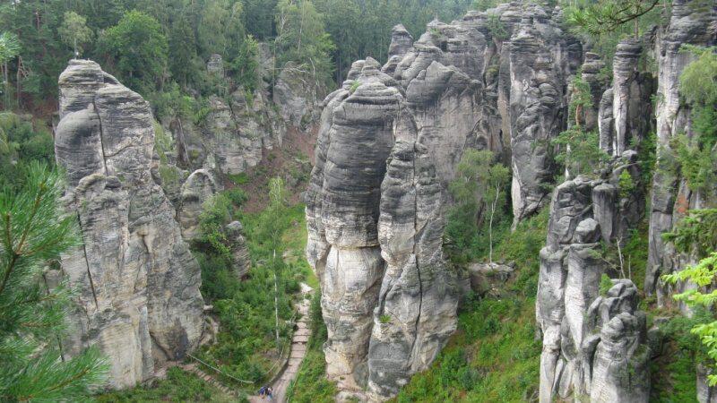 prachovské skály český ráj