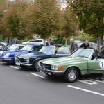 Sraz historických aut Karlovy Vary 27.9.2015