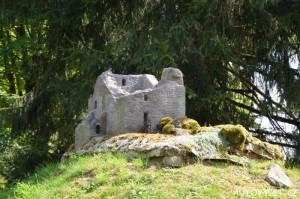 Přimda zřícenina hradu - Boheminium Park Mariánské Lázně