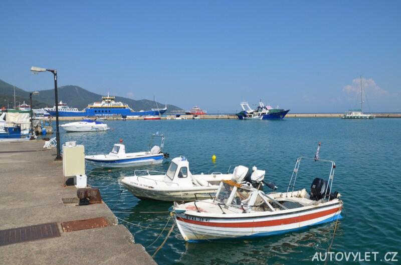 Přístav Limenas - Thassos Řecko