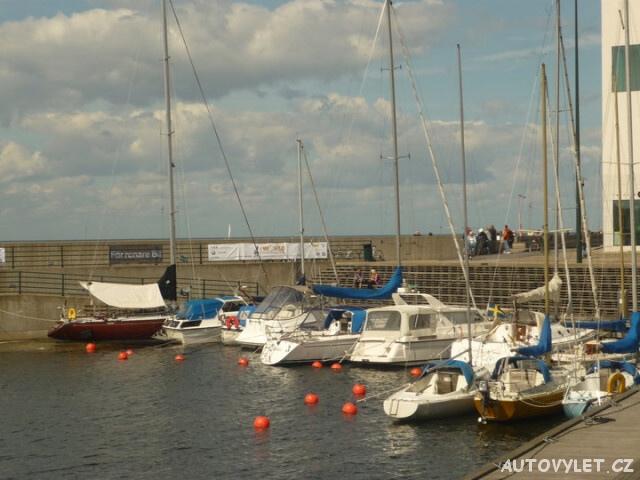 přístaviště - Malmo Švédsko