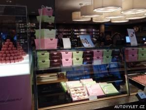 Prodejna čokolády Lindt - Curych Švýcarsko