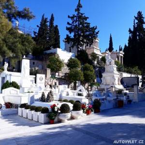 Proto Nekrotafeio Athinon - hřbitov Atény Řecko