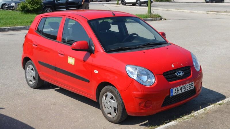 Půjčovna aut Thassos Řecko