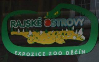 rajské ostrovy zoo děčín