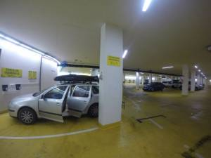 rakousko parkování 2