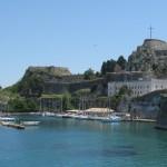 Autem po řeckém ostrově Korfu