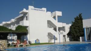 řecko kos hotel blue jay marmari