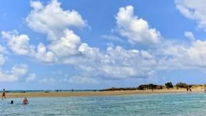 řecko kréta pláž elafonissi