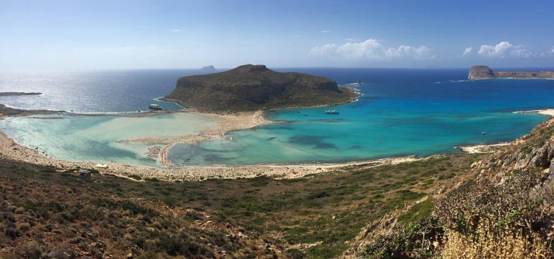 Řecko Kréta laguna