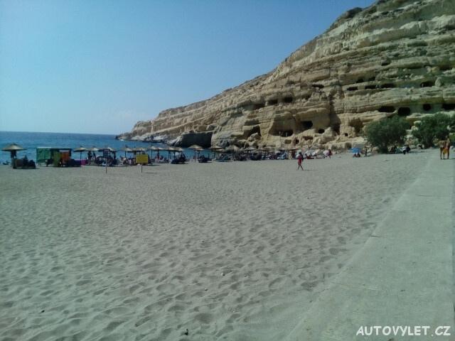 Řecko Kréta pláž