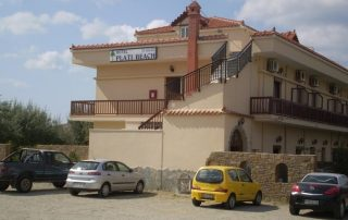 řecko limnos hotel plati beach