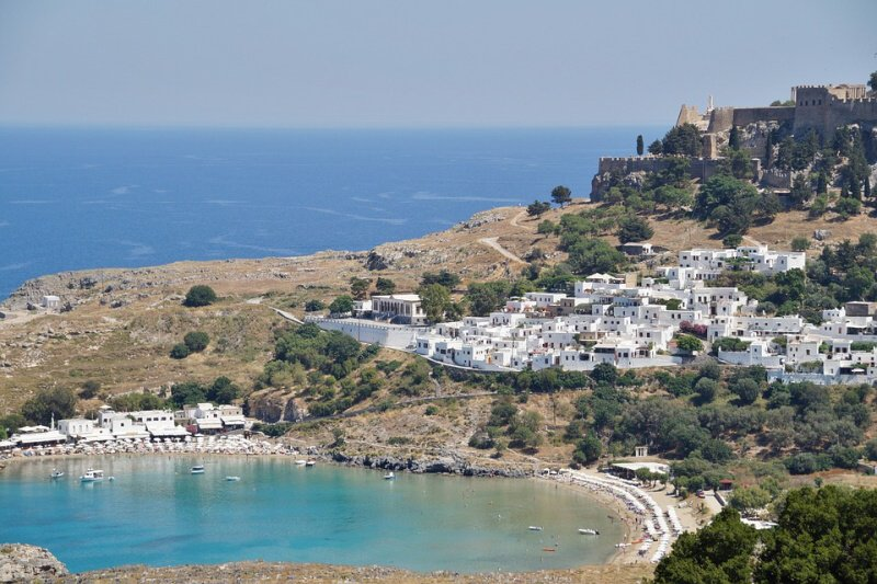 řecko rhodos
