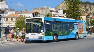 řecko zakynthos autobusem