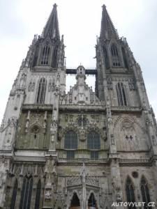Regensburg Řezno Německo 2