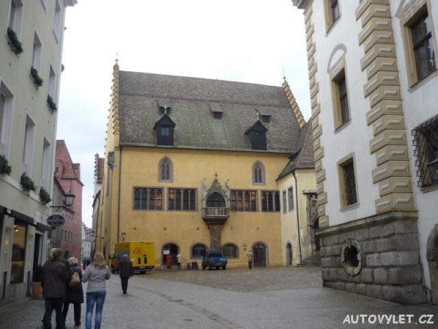 Regensburg Řezno Německo 7